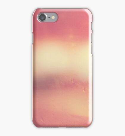 Pink Abstract Landscape, Minimalist Contemporary Photography, #redbubble iPhone Case/Skin