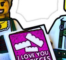 I love you to pieces- Bavaria! Sticker