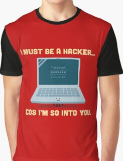Character Building - Valentine Hacker Graphic T-Shirt