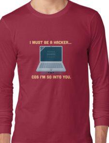 Character Building - Valentine Hacker Long Sleeve T-Shirt