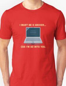 Character Building - Valentine Hacker Unisex T-Shirt