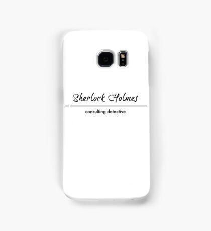Sherlock Holmes - Consulting Detective Samsung Galaxy Case/Skin