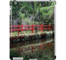 Magnolia Plantation - Red Bridge iPad Case/Skin