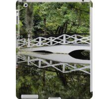 Magnolia Plantation - White Bridge iPad Case/Skin