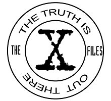 X-Files The Truth Is Out There by NerdyWarehouse