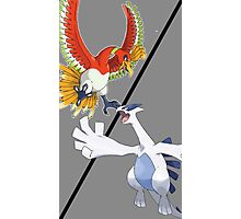 Ho-oh vs. Lugia Photographic Print