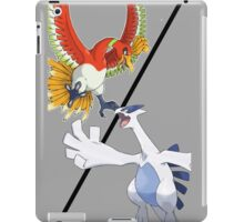 Ho-oh vs. Lugia iPad Case/Skin