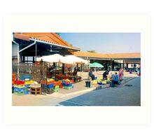 Paphos Fruit Market Art Print
