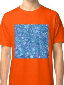 Cosmic Blue Spots Classic T-Shirt