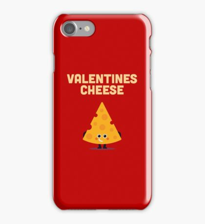 Character Building - Valentines cheese iPhone Case/Skin