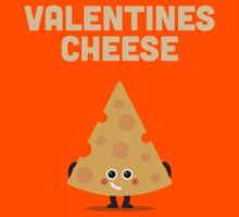 Character Building - Valentines cheese Kids Tee