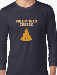 Character Building - Valentines cheese Long Sleeve T-Shirt