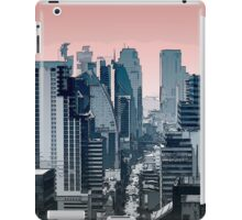 city skyline illustration  iPad Case/Skin