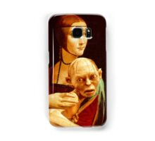 Lady with Gollum Samsung Galaxy Case/Skin