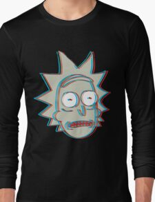 Rick and Morty: 3D Rick Version 2 Long Sleeve T-Shirt