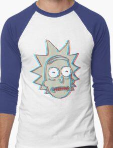 Rick and Morty: 3D Rick Version 2 Men's Baseball ¾ T-Shirt