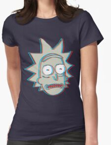 Rick and Morty: 3D Rick Version 2 Womens Fitted T-Shirt