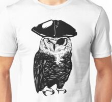 Owl Be A Pirate Unisex T-Shirt