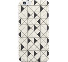 The geometric pattern of triangles iPhone Case/Skin
