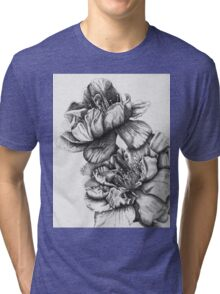 Yaezakura (Cherry Blossoms) Tri-blend T-Shirt