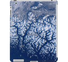 Space Station Flyover of British Columbia's Coast Mountains iPad Case/Skin