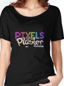 Pixels and Plaster Workshop Logo Women's Relaxed Fit T-Shirt