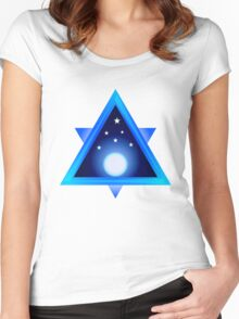 A Cool Moon Women's Fitted Scoop T-Shirt