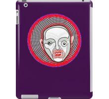 crazy disco man iPad Case/Skin
