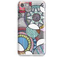 Multicoloured Zentangle iPhone Case/Skin
