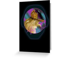 Daftmunk - Daftpunk Chipmunk - Card Greeting Card
