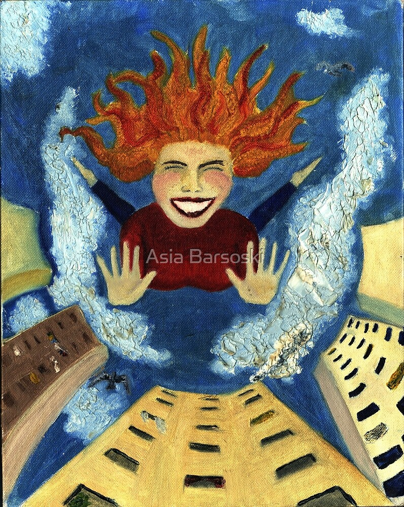 freedom by Asia Barsoski