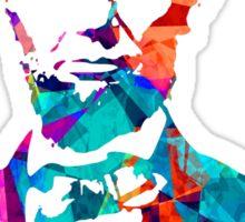Abraham Lincoln - Colours Sticker