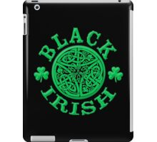 BLACK IRISH with Celtic Art iPad Case/Skin