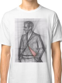 The Twelfth Doctor pencil Sketch  Classic T-Shirt