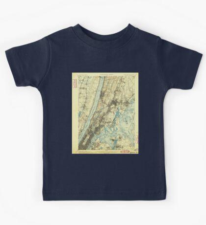 New York NY Harlem 139658 1900 62500 Kids Tee