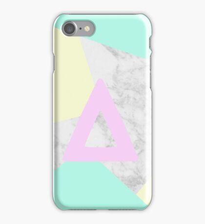 Bastille marble & pastel colours iPhone Case/Skin