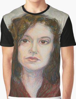 Ann - Portrait Of A Woman Graphic T-Shirt