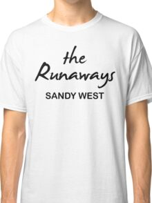 The Runaways Sandy West Classic T-Shirt