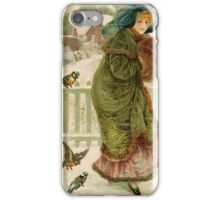 Mrs. Wintergreen and Entourage iPhone Case/Skin