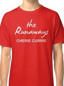 The Runaways Cherie Currie Classic T-Shirt