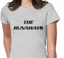 The Runaways Logo Womens Fitted T-Shirt