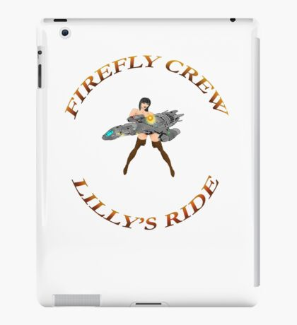 FIREFLY CREW  ''Lilly's Ride'' iPad Case/Skin