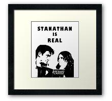 Stanathan always Framed Print