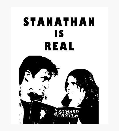 Stanathan always Photographic Print