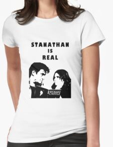 Stanathan always Womens Fitted T-Shirt