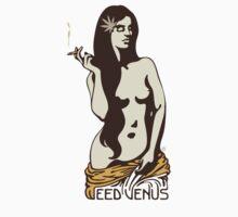 Weed Venus Baby Tee