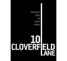 10 Cloverfield Lane Photographic Print