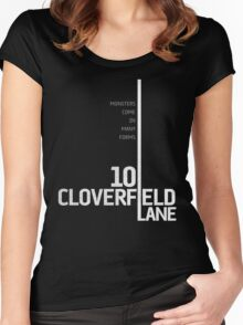 10 Cloverfield Lane Women's Fitted Scoop T-Shirt