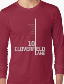 10 Cloverfield Lane Long Sleeve T-Shirt