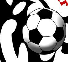 Blood Sweat Soccer Sticker